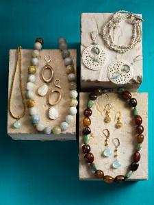 Peruvian Opal & Amazonite